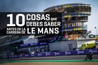 Las estadísticas clave del GP SHARK Helmets de Francia