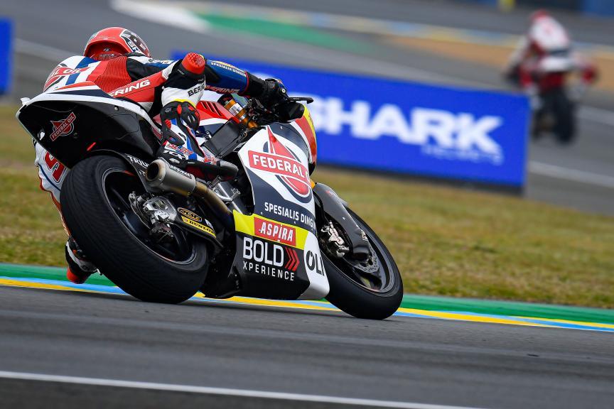 Sam Lowes, Federal Oil Gresini Moto2, SHARK Helmets Grand Prix de France