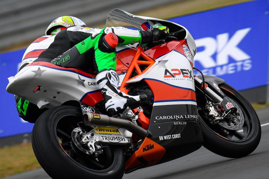 Iker Lecuona, American Racing KTM, SHARK Helmets Grand Prix de France