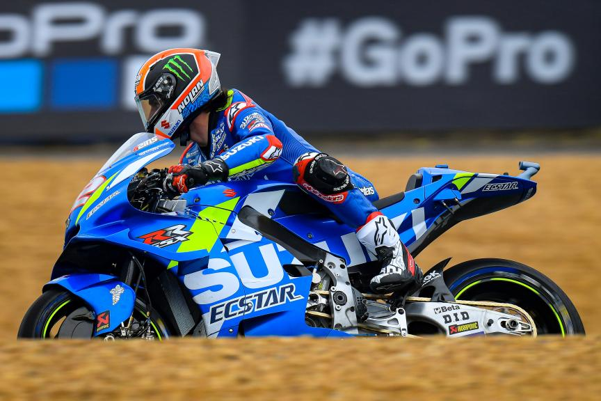 Alex Rins, Team Suzuki Ecstar, SHARK Helmets Grand Prix de France 43	Jack Miller, PRAMAC RACING, SHARK Helmets Grand Prix de France