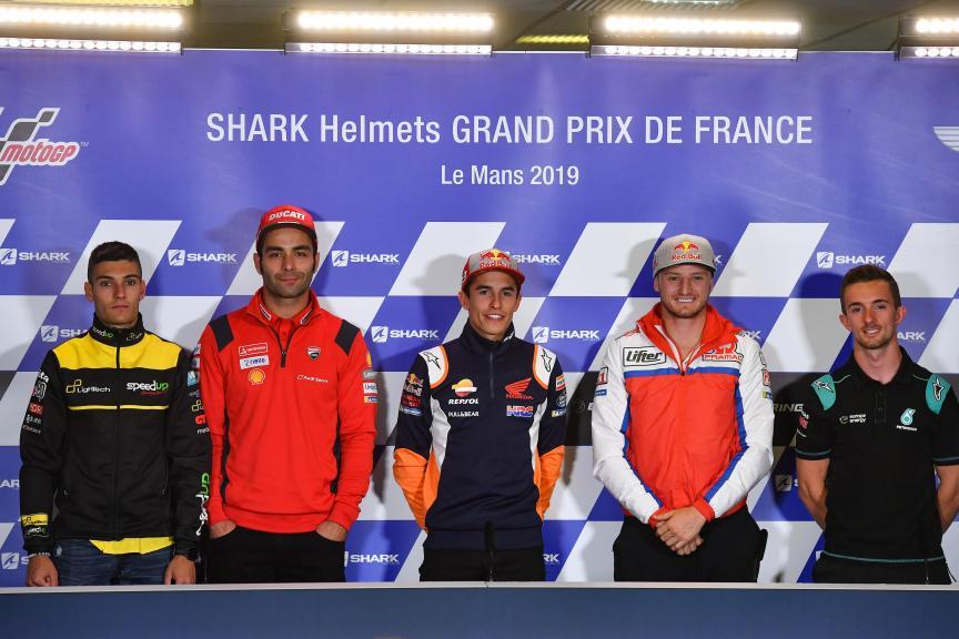 Press-Conference, SHARK Helmets Grand Prix de France