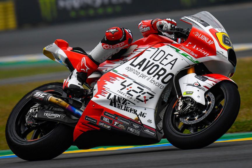 Stefano Manzi, MV Augusta Idealavoro Forward, SHARK Helmets Grand Prix de France