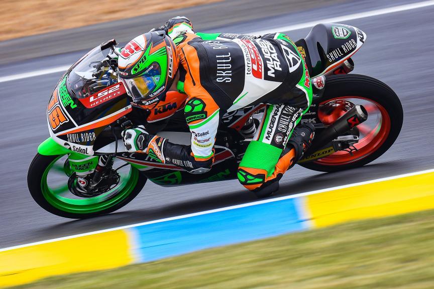 Makar Yurchenko, Boe Skull Rider Mugen Race, SHARK Helmets Grand Prix de France