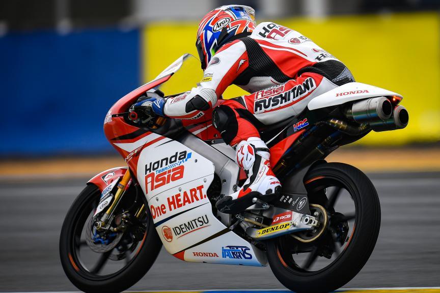 Ai Ogura, Honda Team Asia, SHARK Helmets Grand Prix de France