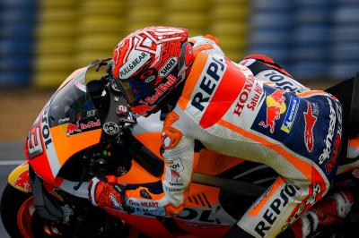 Can the rain threaten Marquez' Championship lead in Le Mans?