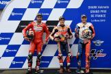 Marc Marquez, Danilo Petrucci, Jack Miller, SHARK Helmets Grand Prix de France