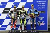 Jorge Navarro, Tom Luthi, Alex Marquez, SHARK Helmets Grand Prix de France