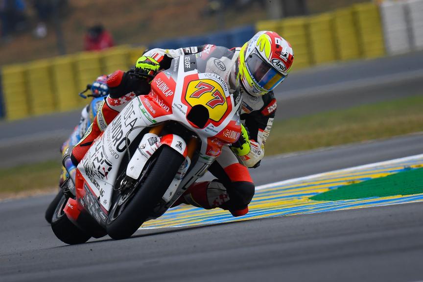 Dominique Aegerter, MV Augusta Idealavoro Forward, SHARK Helmets Grand Prix de France