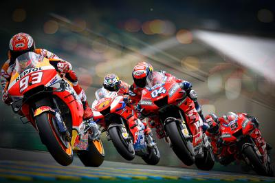 Marquez equals Rossi premier class pole record in Le Mans