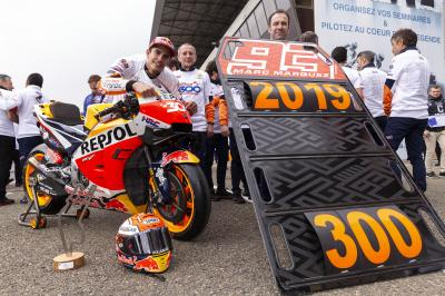 300 up for Honda after Marquez' French masterclass
