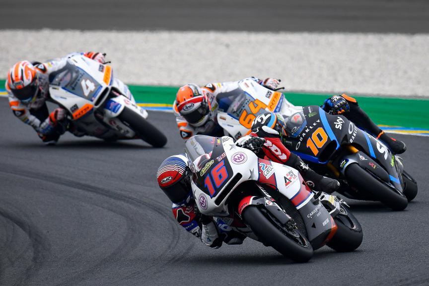 Joe Roberts, American Racing KTM, SHARK Helmets Grand Prix de France
