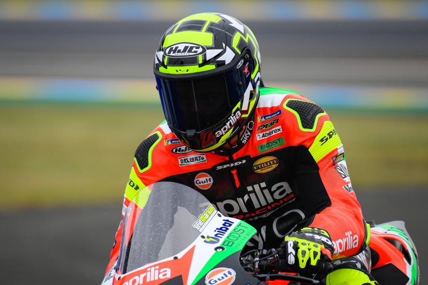 Andrea Iannone, Aprilia Racing Team Gresini, SHARK Helmets Grand Prix de France