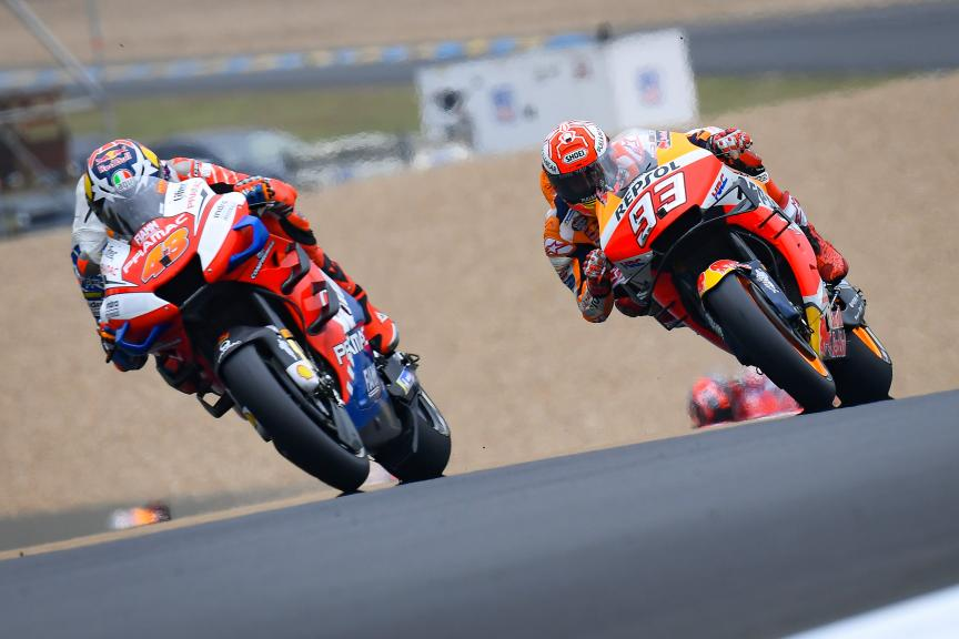 Jack Miller, Marc Marquez, SHARK Helmets Grand Prix de France