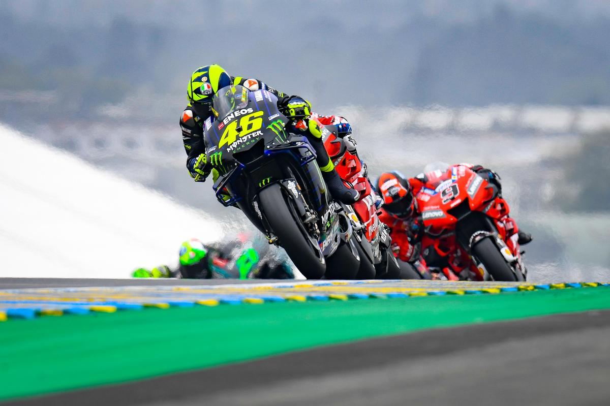 """""""Close, but not enough"""" for Rossi in France"""