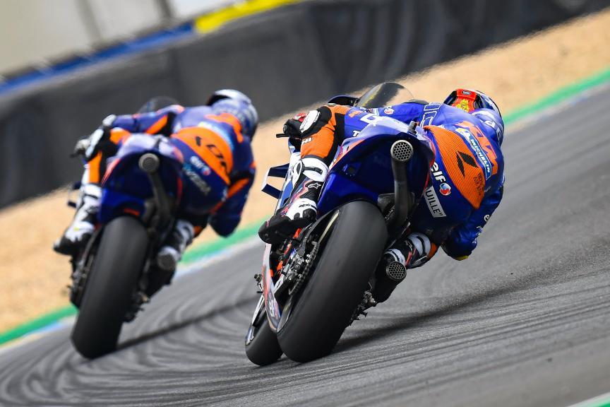 Hafizh Syahrin, Miguel Oliveira, Red Bull KTM Tech 3, SHARK Helmets Grand Prix de France