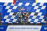 John McPhee, Lorenzo Dalla Porta, Aron Canet, SHARK Helmets Grand Prix de France