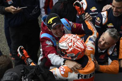Marquez brothers double up for a third time