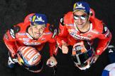Andrea Dovizioso, Danilo Petrucci, Ducati Team, SHARK Helmets Grand Prix de France