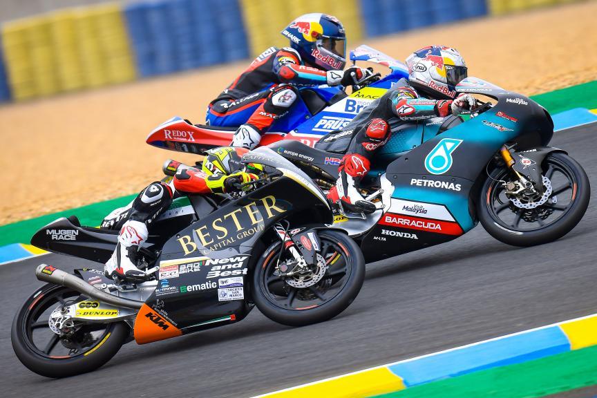 Moto3, SHARK Helmets Grand Prix de France