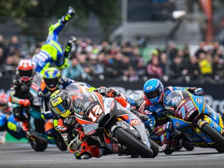 Moto2, Race, SHARK Helmets Grand Prix de France