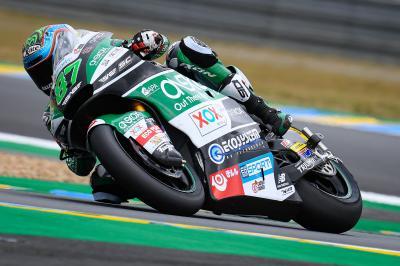 Moto2™ - Le Mans : Gardner en met plein la vue au warm-up !