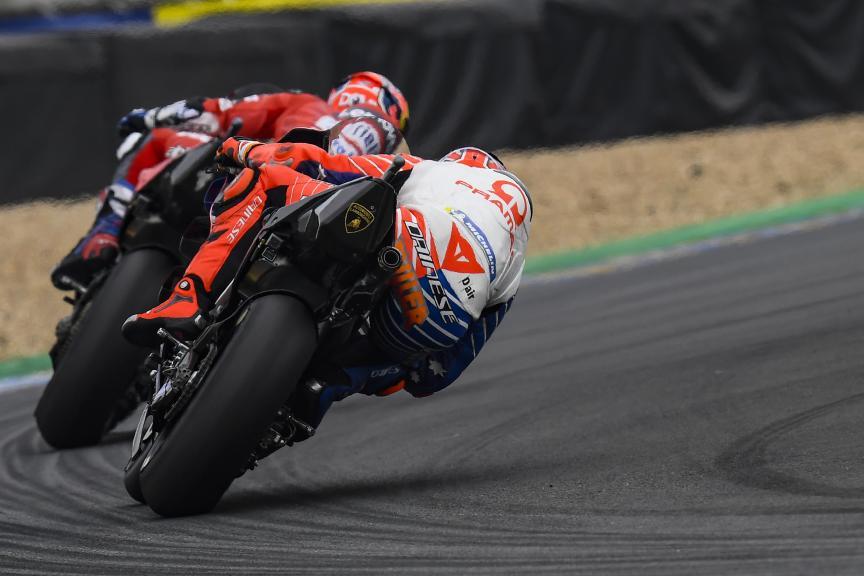 Danilo Petrucci, Jack Miller, SHARK Helmets Grand Prix de France