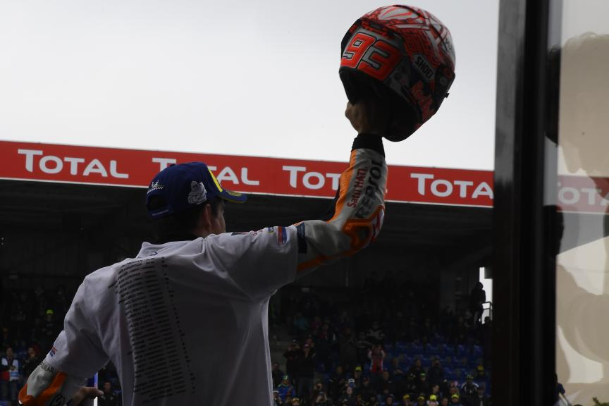 Marc Marquez, Repsol Honda Team, SHARK Helmets Grand Prix de France