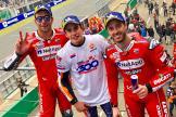Marc Marquez, Andrea Dovizioso, Danilo Petrucci, SHARK Helmets Grand Prix de France