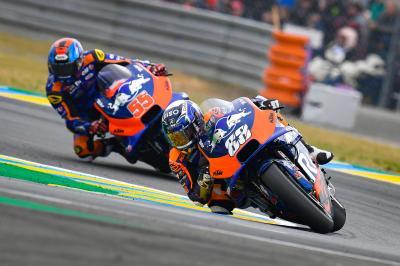 Red Bull KTM Tech3 hisse ses deux pilotes dans les points