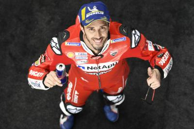 "Dovizioso: ""The championship is completely open"""