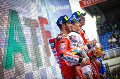 After the Flag:Ein-Mann-Honda-Armee stoppt Ducati in Le Mans