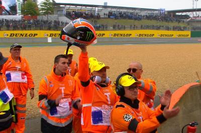 Il bel gesto di Alex Rins a Le Mans