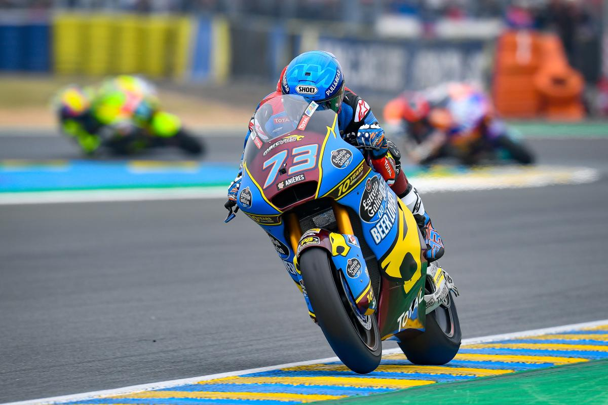 Barcelona hosts private Moto2™, Moto3™ test