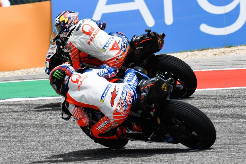 Jack Miller, Francesco Bagnaia, Pramac Racing