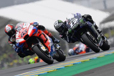 Viñales poursuivi par la malchance au Mans…