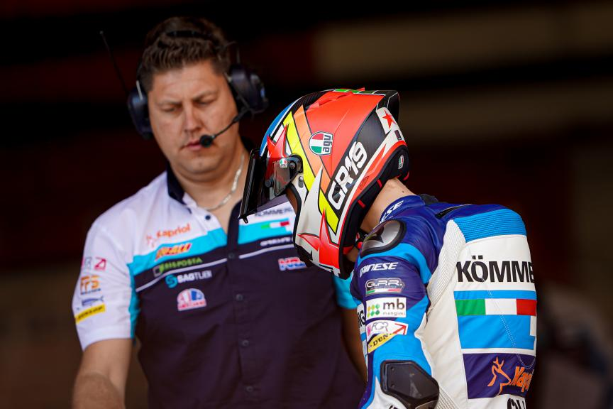 Gabriel Rodrigo, Kőmmerling Gresini Moto3, Circuit de Barcelona - Catalunya Private Test