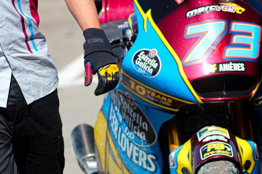 Alex Marquez, EG 0,0 Marc Vds, Circuit de Barcelona - Catalunya Private Test