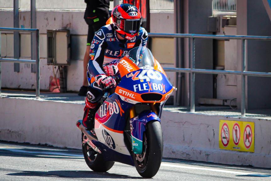 Augusto Fernandez, Flex-Box HP40, Circuit de Barcelona - Catalunya Private Test