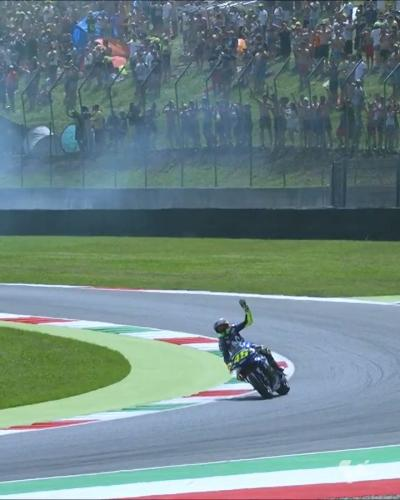 Mugello awaits... @ValeYellow46 is ready to race in his homeland