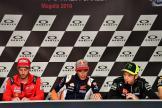 Andrea Dovizioso, Marc Marquez, Valentino Rossi, Gran Premio d'Italia Oakley