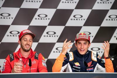 Ducati se conjura para derrocar a Márquez en casa