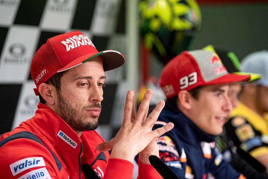 Andrea Dovizioso, Mission Winnow Ducati, Gran Premio d'Italia Oakley