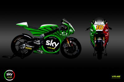 Sky Racing Team VR46, un diseño para enorgullecer a Italia