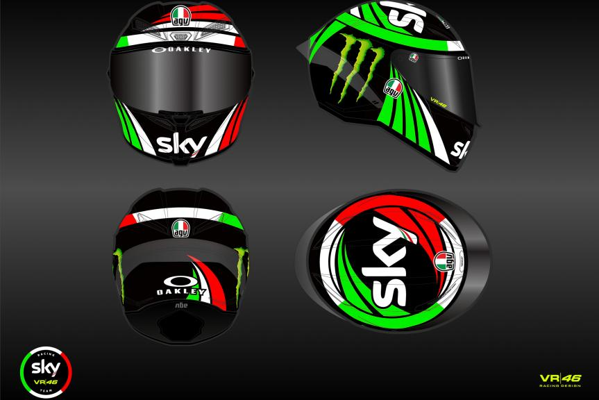 Sky Racing Team VR46 - New colours