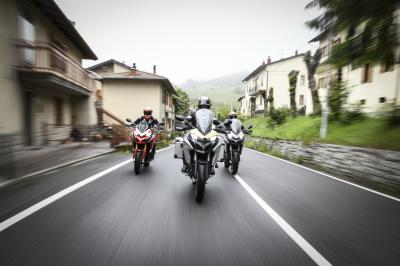 @andreadovizioso, @petrux9 and @pirrorider enjoyed a road trip on two