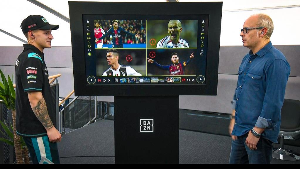 TouchScreen DAZN Quartararo