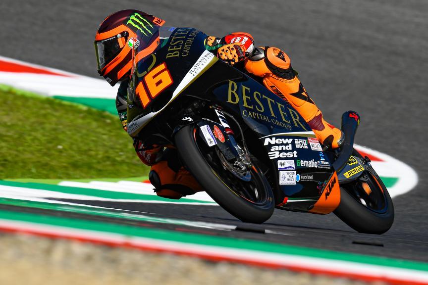 Andrea Migno, Bester Capital Dubai, Gran Premio d'Italia Oakley
