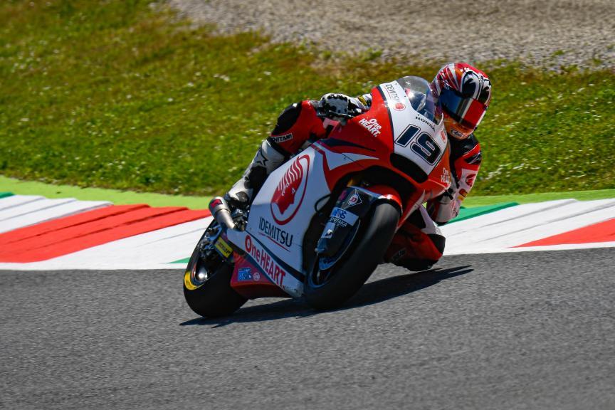 Teppei Nagoe, Idemitsu Honda Team Asia, Gran Premio d'Italia Oakley