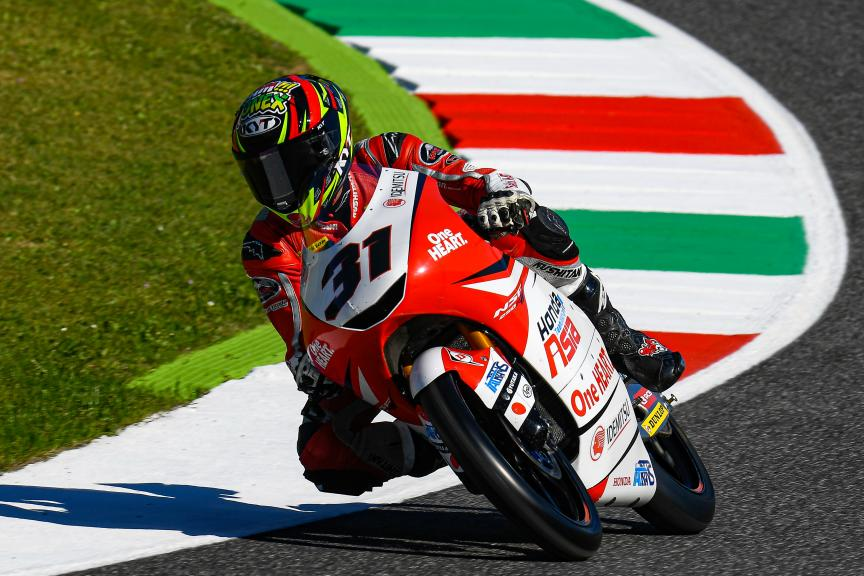 Gerry Salim, Honda Team Asia, Gran Premio d'Italia Oakley