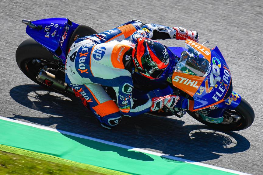 Augusto Fernandez, Flex-Box HP40, Gran Premio d'Italia Oakley